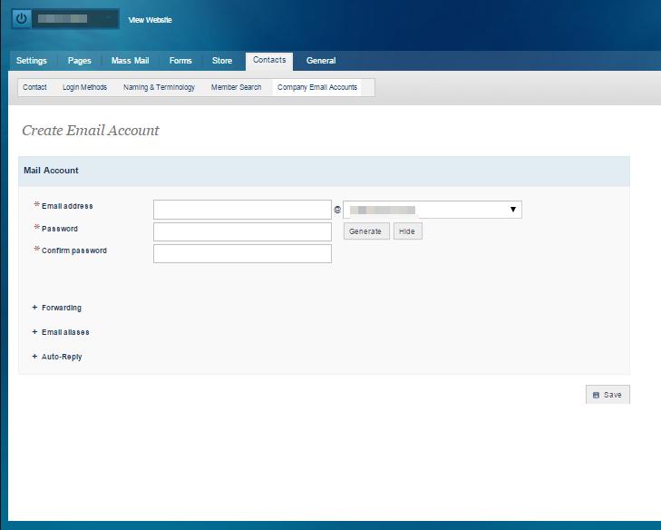 Creating Company Email Accounts
